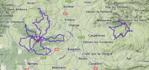 France Cycling Heat Map 2013