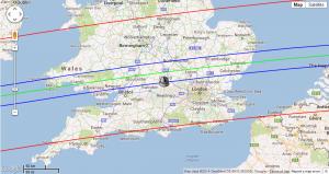 (844) Leontina map prediction